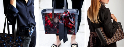 Woman's 'Tote Hawaii Check' bag Red Liu jo Berton Magazzini