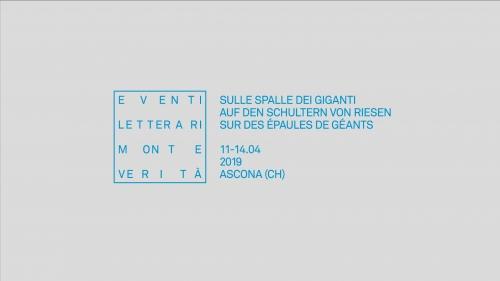 pretty nice 86d51 3e790 Ascona, Eventi letterari Monte Verità Sulle spalle dei giganti