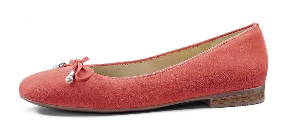 9193bcaa19fb4 Ara Shoes  la ballerina Living Coral