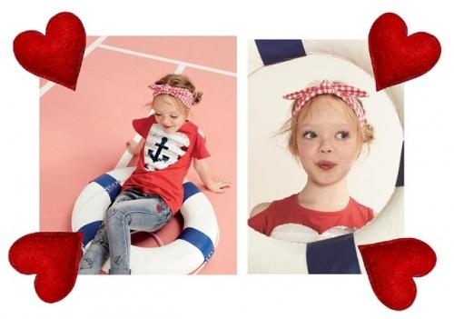ef9af456fd7c Tuc tuc  moda bambina per San Valentino
